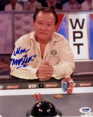 "Autographed Men ""The Master"" Nguyen Photo - 8x10 PSA/DNA"