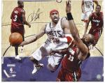 "New Jersey Nets Vince Carter Autographed 16"" x 20"" Photo - Mounted Memories"