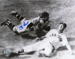 Yogi Berra New York Yankees Autographed 8'' x 10'' Catcher Photograph - Mounted Memories