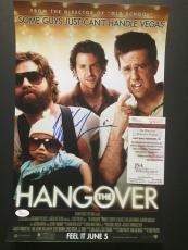 Signed Mike Tyson Photo - 11x17 Poster The Hangover Movie JSA COA