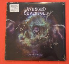 Avenged Sevenfold Signed Autographed THE STAGE Record Album LP Vinyl B