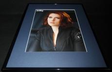 Avengers Scarlett Johansson Black Widow Framed 16x20 Poster Display