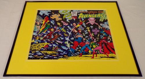Avengers Special Edition #2 Marvel Framed 16x20 Cover Poster Display Kree Skrull