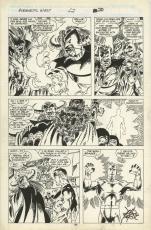 "Avengers West Coast #52 1989 Comic Art Page #20 Artist John Byrne 10"" X 15""."