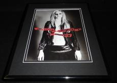 Avril Lavigne 2007 Open Jacket Framed 11x14 Photo Display