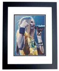 Avril Lavigne Autographed 8x10 Photo BLACK CUSTOM FRAME