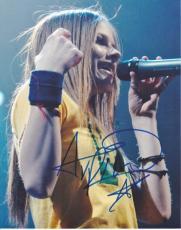 Avril Lavigne Autographed 8x10 Photo