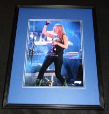 Avril Lavigne Framed 11x14 Photo Poster
