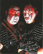 Ax & Smash Demolition Signed WWE 8x10 Photo