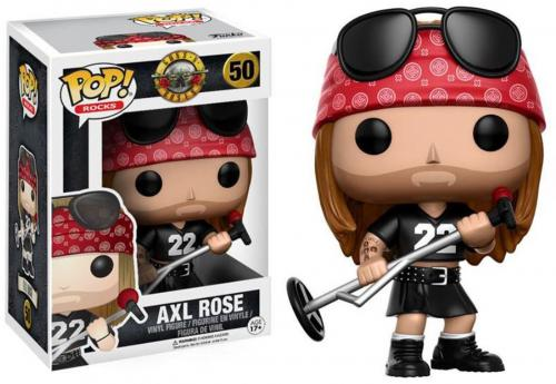 Axl Rose Guns N Roses # 50 Funko Pop!