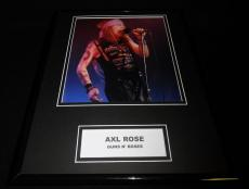 Axl Rose Guns N' Roses in concert Framed 11x14 Photo Display