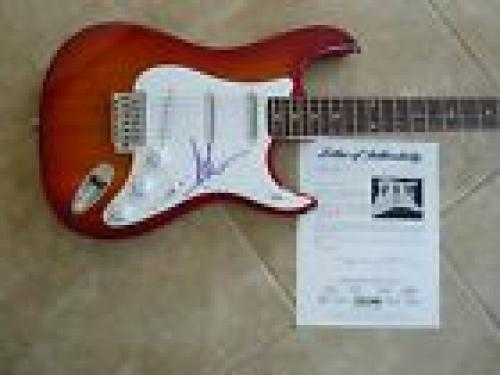 Axl Rose Guns & Roses GNR Signed Autographed Electric Guitar PSA Certified