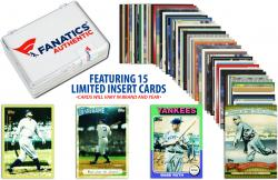 Babe Ruth New York Yankees Collectible 15 Card Insert / Limited Edition Lot