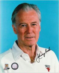"""Johnny Bach Chicago Bulls Autographed 8"""" x 10"""" Potrait Photograph"""
