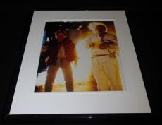 Back to the Future Framed 8x10 Photo Poster Michael J Fox Christopher Lloyd