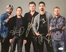Backstreet Boys Band Signed 11x14 Photo #2 JSA COA
