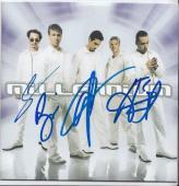 BACKSTREET BOYS group signed (MILLENIUM) CD COVER ALBUM W/COA *NICK CARTER*