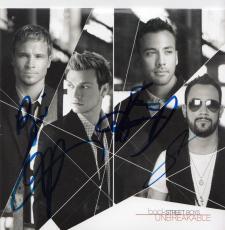 BACKSTREET BOYS group signed (UNBREAKABLE) CD COVER ALBUM W/COA *NICK CARTER*