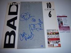Bad Company 10 From 6 3sigs Jsa/coa Signed Lp Record Album