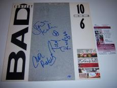 Bad Company 10 From 6 3sigs Jsa/coa Signed Lp Record Album