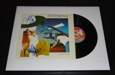 Bad Company Group Signed Framed Desolation Angels Record Album Display 1979