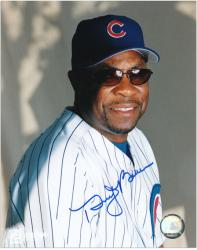 "Dusty Baker Chicago Cubs Autographed 8"" x 10"" Sunglass Photograph"