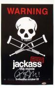 Bam Margera Signed Jackass Poster