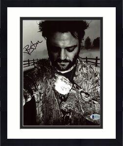 Bam Margera Jackass Signed 8x10 Photo Autographed BAS #D17031