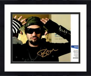 Bam Margera Signed - Autographed JACKASS Actor 8x10 inch Photo - Beckett BAS Certificate of Authenticity (COA)