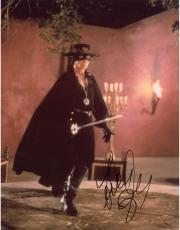 Antonio Banderas Autographed 8'' x 10'' Zorro Zorro Photograph