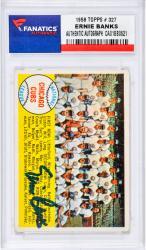 BANKS, ERNIE AUTO (1958 TOPPS # 327) CARD - Mounted Memories