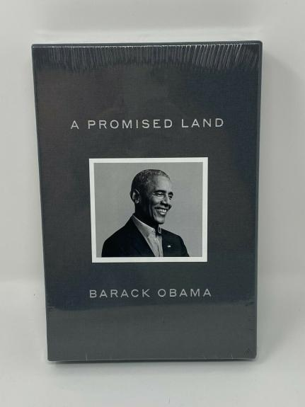 """Barack Obama Signed """"a Promised Land"""" Book Sealed Authentic Autograph Auto"""