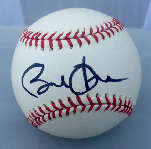 Barack Obama Signed Official Major League Baseball JSA