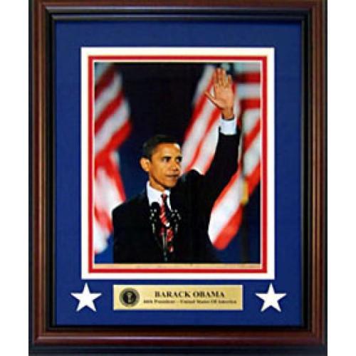 Barack Obama Unsigned 8x10 Framed Photo