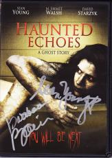 Barbara Bain & Sean Young Signed DVD Haunted Echoes Prf