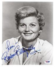 BARBARA BILLINGSLEY SIGNED AUTOGRAPHED 8x10 PHOTO LEAVE IT TO BEAVER PSA/DNA