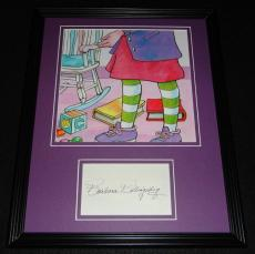Barbara Billingsley Signed Framed 11x14 Photo Display Muppet Babies Nanny