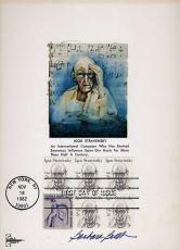 Barbara Bush Signed Psa/dna Coa Certified 5x7 Fdc Postcard Authentic Autograph
