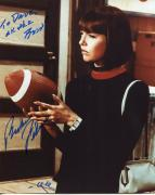 BARBARA FELDON HAND SIGNED 8x10 COLOR PHOTO+COA     99 FROM GET SMART    TO DAVE