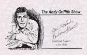 """BARBARA STUART """"THE ANDY GRIFFITH SHOW"""" as PAT BLAKE (Passed Away 2011) Signed 8.5 x 5.5 Promo Sheet"""