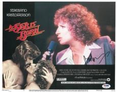 Barbra Streisand Signed Authentic Autographed 11x14 Lobby Card (PSA/DNA) #U07713