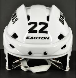 Krys Barch New Jersey Devils Game-Used Easton E700 Hockey Helmet