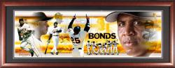 Barry Bonds San Francisco Giants Framed Unsigned Panoramic Photograph