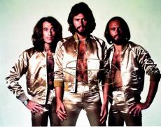 Barry Gibb Signed - Autographed BEE GEES Concert 11x14 Photo
