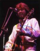 Barry Gibb Bee Gees Autographed Signed 8x10 Photo Certified Authentic BAS COA