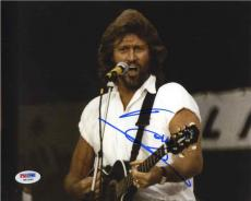 Barry Gibb Bee Gees Autographed Signed 8x10 Photo Certified Authentic PSA/DNA