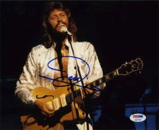 Barry Gibb Bee Gees Autographed Signed 8x10 Photo Certified PSA/DNA COA