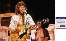 Barry Gibb BEE GEE'S Signed 11x14 Photo PSA DNA COA Autogray Stayin' Alive