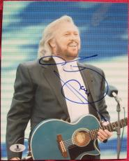 Barry Gibb Bee Gees signed 8x10 photo Beckett BAS Authentic autograph