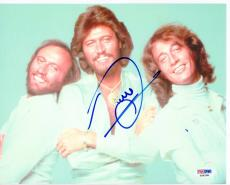 Barry Gibb Bee Gees signed 8x10 photo PSA/DNA autograph